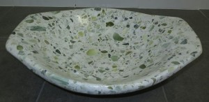 Jade Oval Fruit Bowl